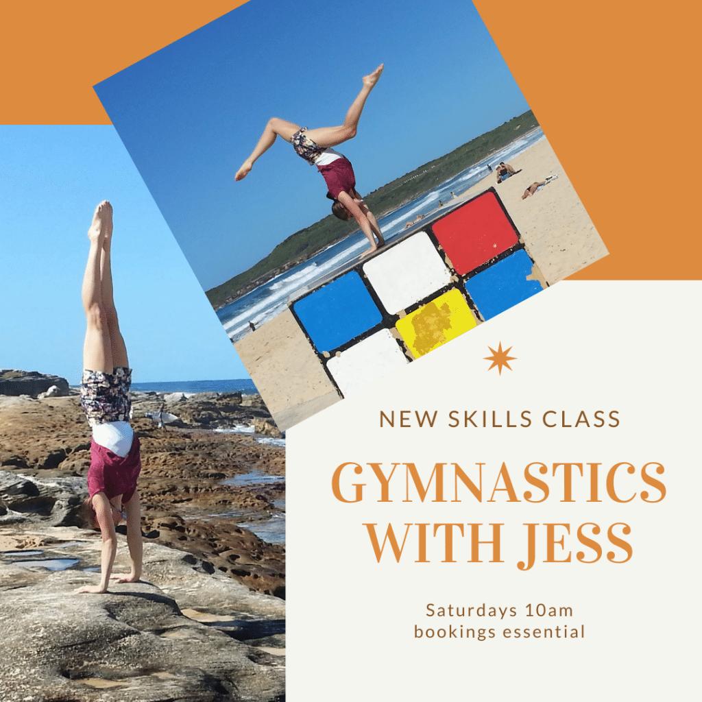 Gymnastics with Jess Saturday 10 am
