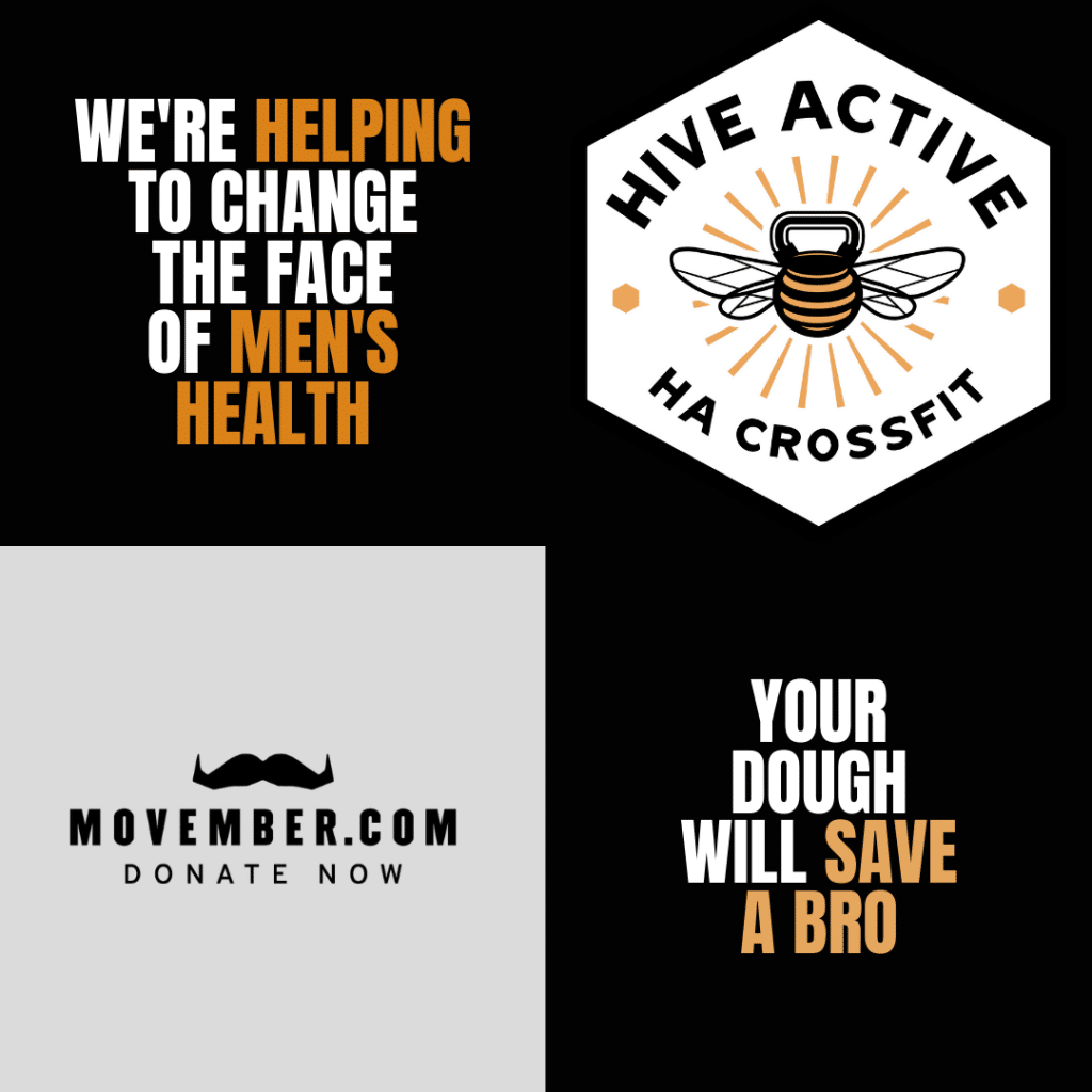 Movember at Hive Active