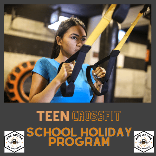 Teen CrossFit School Holiday Program